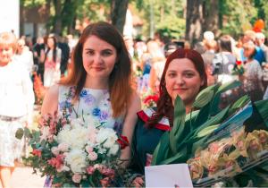 Attēlā no kreisās: Evita Važeņina un Sandra Milta