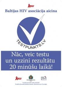 Testpunkta plakats A1